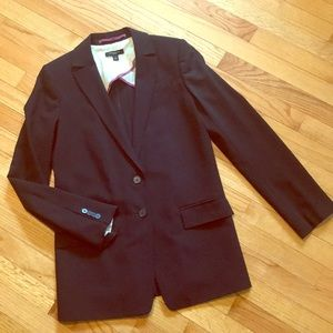 Ann Taylor long two button blazer